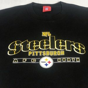 Pittsburgh Steelers AFC North T-shirt Sz Large